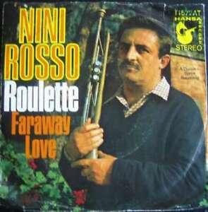 Nini-Rosso-Roulette-7-034-Single-Vinyl-Schallplatte-20388
