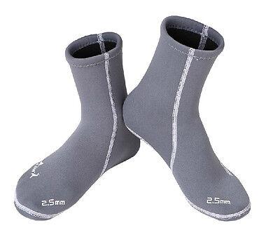 2.5mm Neoprene Water Sports Swimming Scuba Diving Surfing Socks Snorkeling Boots
