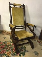 Antique Rocking Chair Mechanical Iron Springs.12pixShipsGreyhound $99,MAKE OFFER