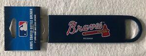 MLB-Atlanta-Braves-Baseball-7-Steel-Vinyl-Coated-Bottle-Opener-NEW