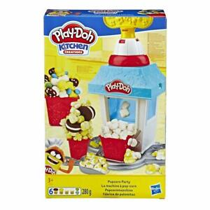 Play-Doh-Kitchen-Creations-Popcorn-Party-Play-Doh-Dough-Toy-Playset-280g