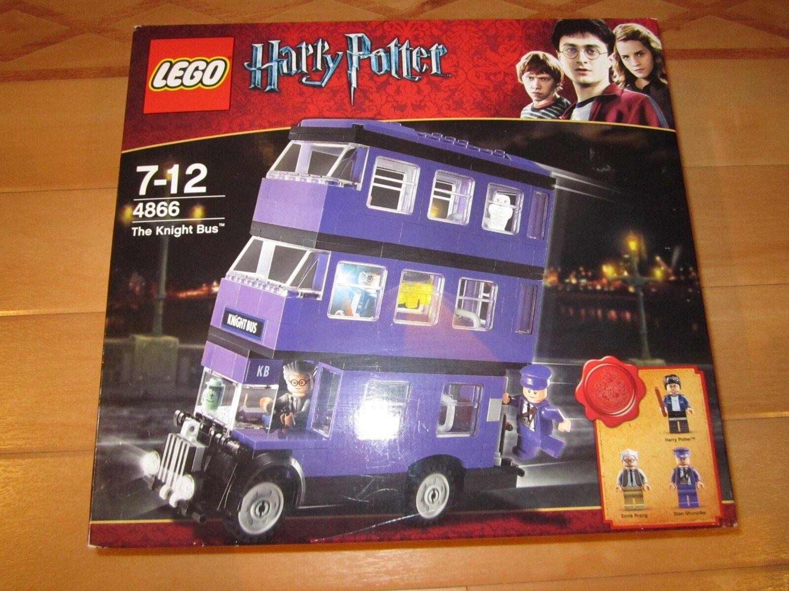 LEGO HARRY POTTER KNIGHT BUS 4866 -DAMAGED BOX - NEW/BOXED/SEALED - SEE PHOTOS