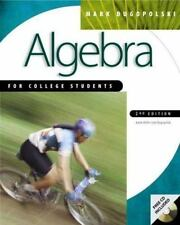 Algebra for College Students with Student CD-ROM Windows mandatory package