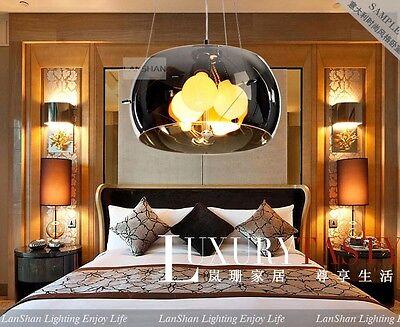 40CM New Modern Glass Pendant Light Dinner Room Ceiling Lamp Lighting Bedroom