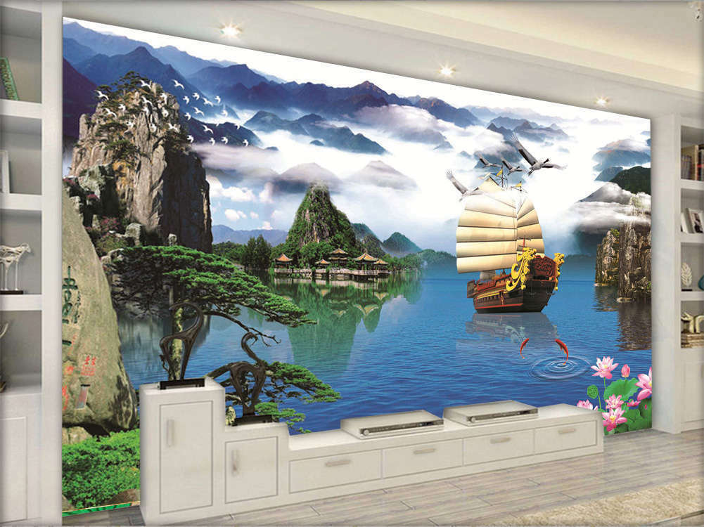 Peaceful Pure Nature 3D Full Wall Mural Photo Wallpaper Printing Home Kids Decor