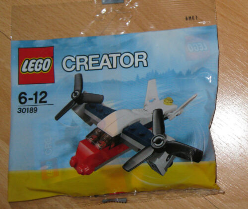 TRANSPORT PLANE 30189 NEW AND SEALED LEGO CREATOR POLYBAG