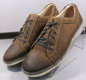on feet images of wholesale online best website Details about 5910880 WT50 Mens Shoe Size 13 M Brown Leather Lace Up  Johnston Murphy Walk Test