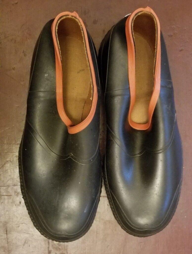 Vintage BF Goodrich Mens Rubber shoes No Laces  Shop shoes New  Size 8 1 2