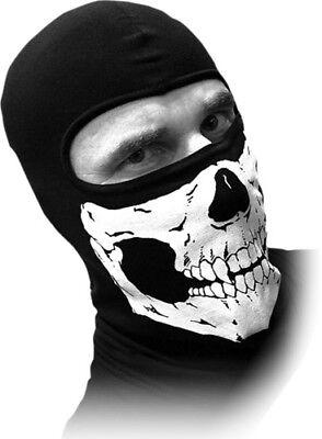 Schampa Stretch Headwrap Flaming Skull Black BNDNA003-71 2504-0230 Flaming