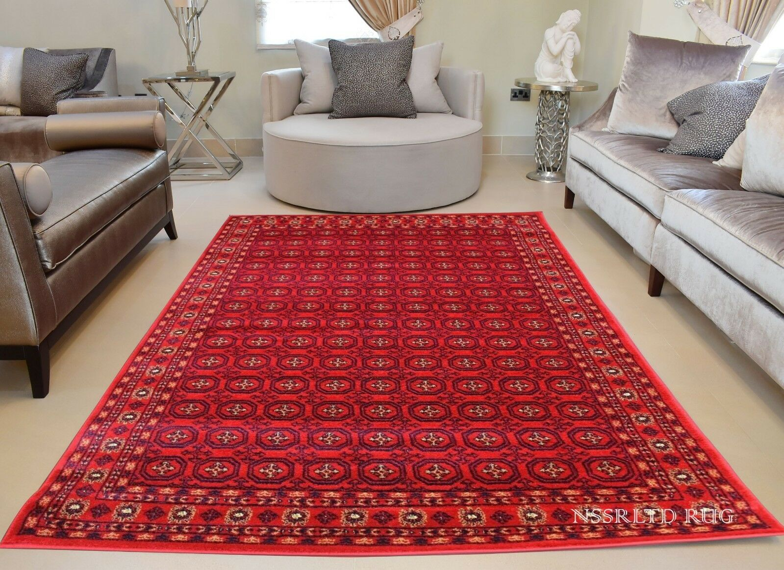Brand New Tribal Afghan Perse khoorasan & Patins Traditionnel Bokhara rugs & Patins & 5edb39
