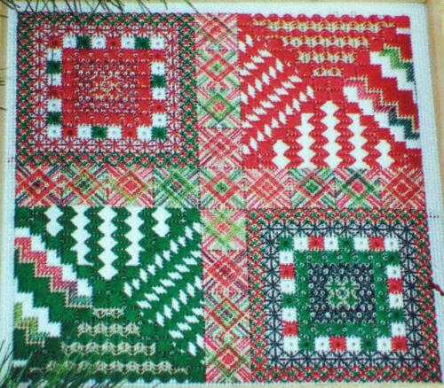 HO Counted Needlepoint Pattern CHRISTMAS HO DebBee/'s Designs HO