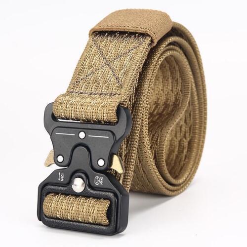 Cinture Uomo Militare Tattico Canvas Casual Outdoor Uomo Nylon Esercito ceinture Homme