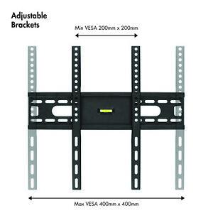 Fija-Soporte-Montura-TV-amp-Incorporada-Nivel-de-burbuja-66-107cm-LCD-LED-PLASMA