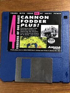 Amiga-Power-Magazine-Issue-31-Original-Cover-Demo-Disk-TESTED-Cannon-Fodder-Plus