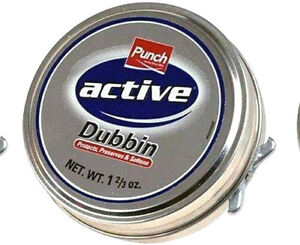 1-x-Punch-Active-Dubbin-Neutral-Tin-Waterproofs-Leather-Shoe-Boot-Care-Wax-50ml