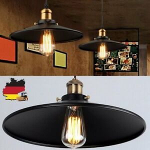Retro Industrie Mauer Lampe Pendelleuchte Bar Lampenschirm Lampe Schwarz