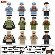 GERMAN MILITARY set LOT of 4 minifigures WWII WWI war camo custom army Star Wars