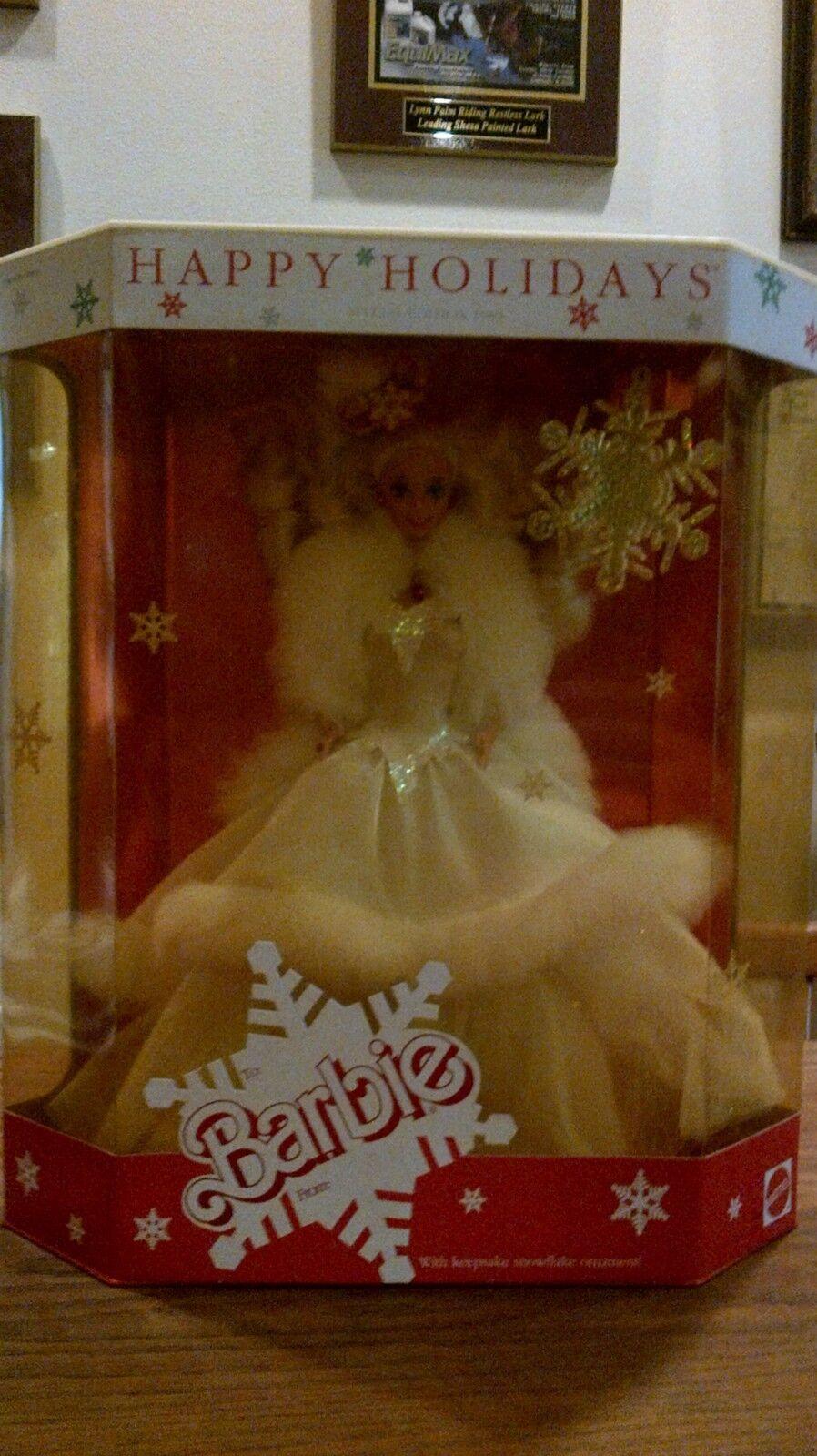 Edición especial Felices Fiestas 1989 Barbie Muñeca