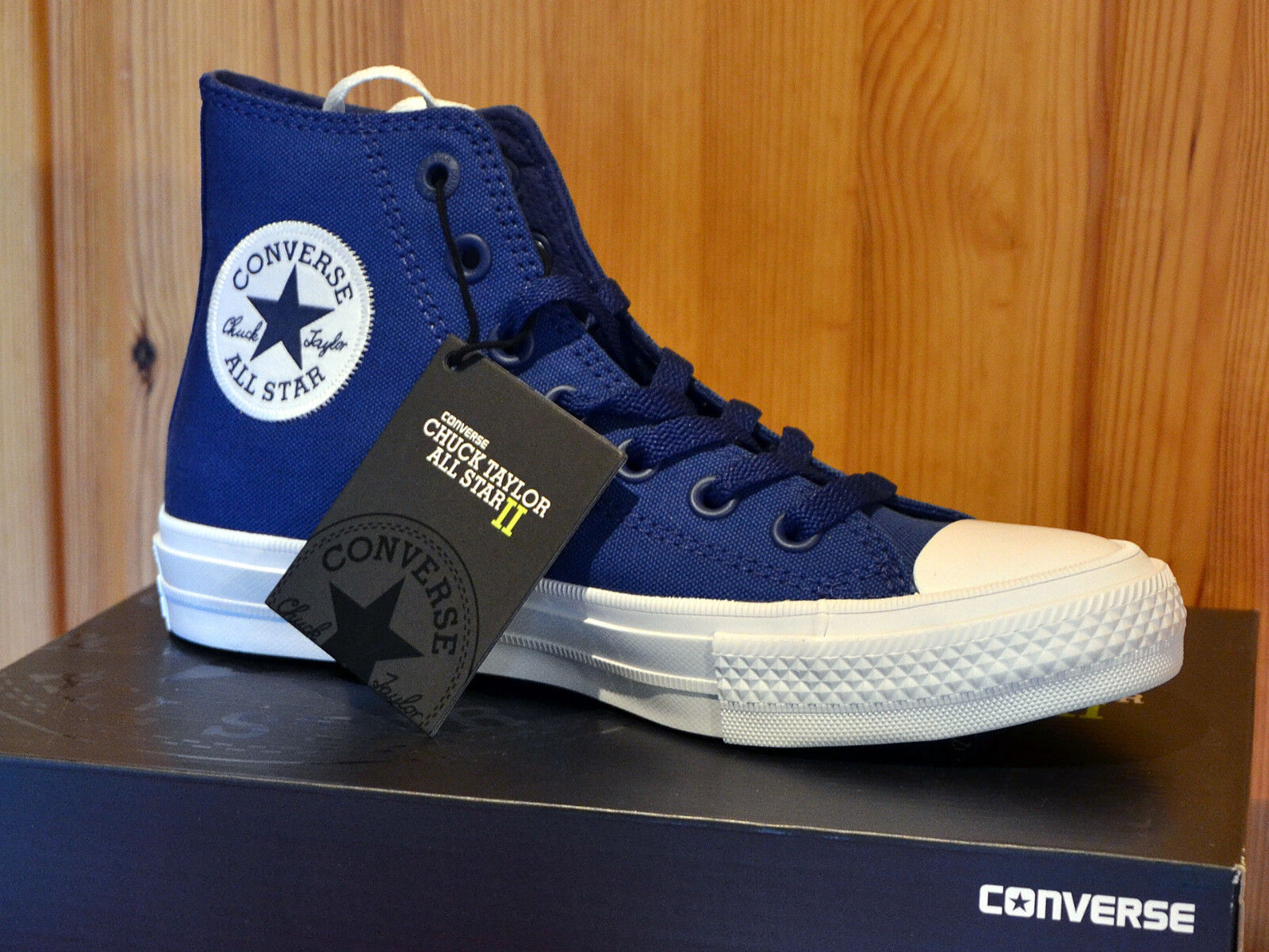 Converse Chucks Taylor All Star II Hi - EU 37 - sodalite Blau blau 150146C NEU