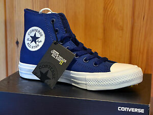 Converse Chucks Taylor All Star II Hi EU 37 sodalite blue blau 150146C NEU
