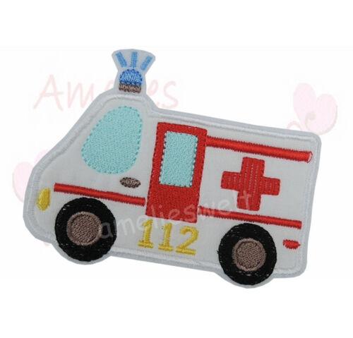 Ambulancia XL aufbügler Patch perchas imagen Patch sticker BW TELA cruz roja