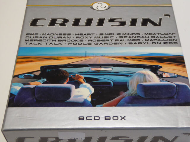 VARIOUS - Cruisin - VG+ (8CD)