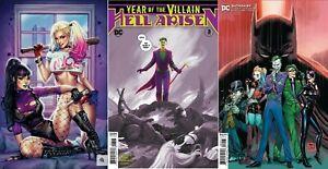 NOTTI-amp-NYCE-Harley-Quinn-amp-Punchline-CLOWNING-AROUND-VIRGIN-Batman-89-Villian