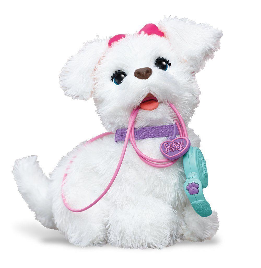 Hasbro Furreal Friends, Fur Real Friends Laufende Get & Gogo Hund Weiß 3555725