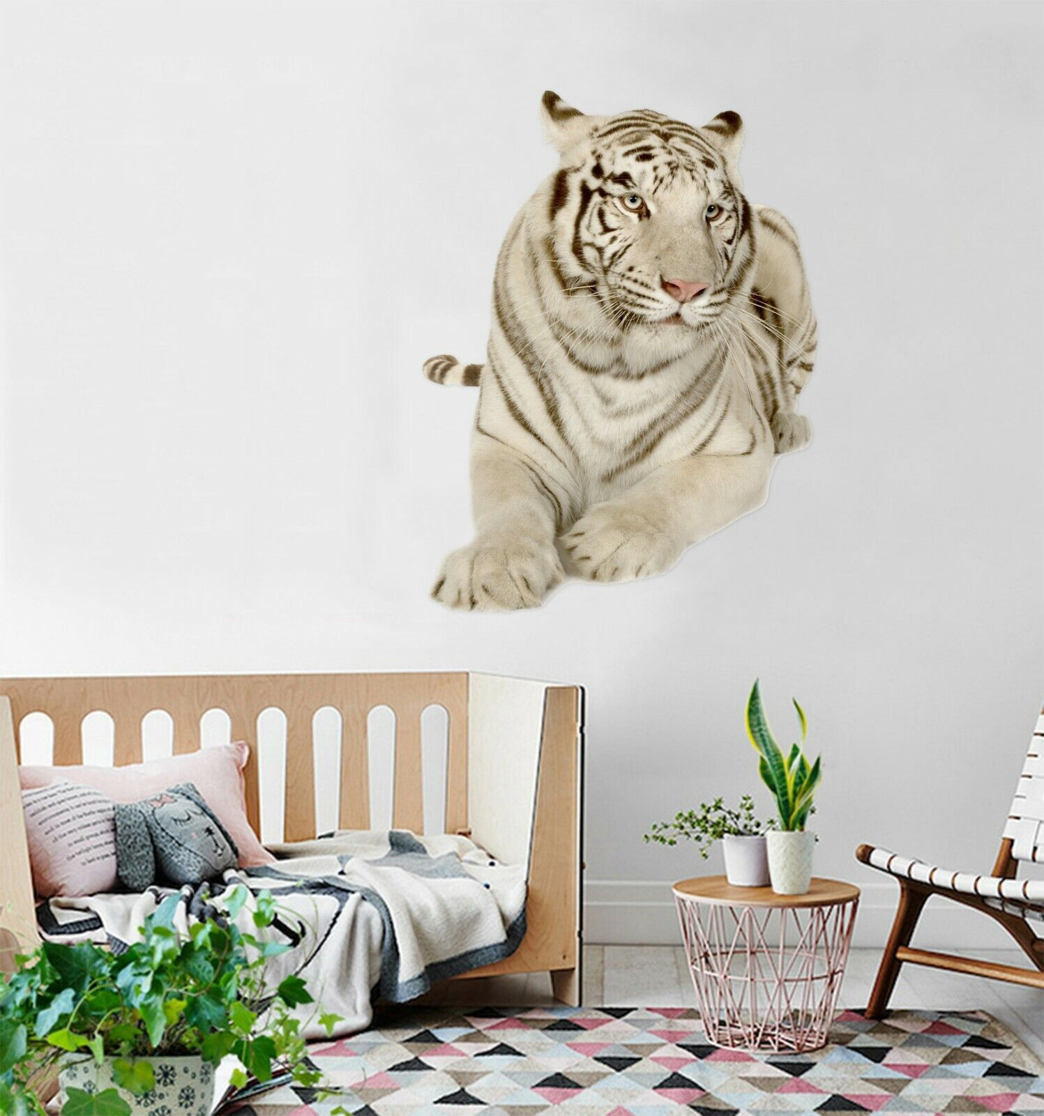 3D Tiger I142 Animal Wallpaper Mural Poster Wall Stickers Decal Angelia