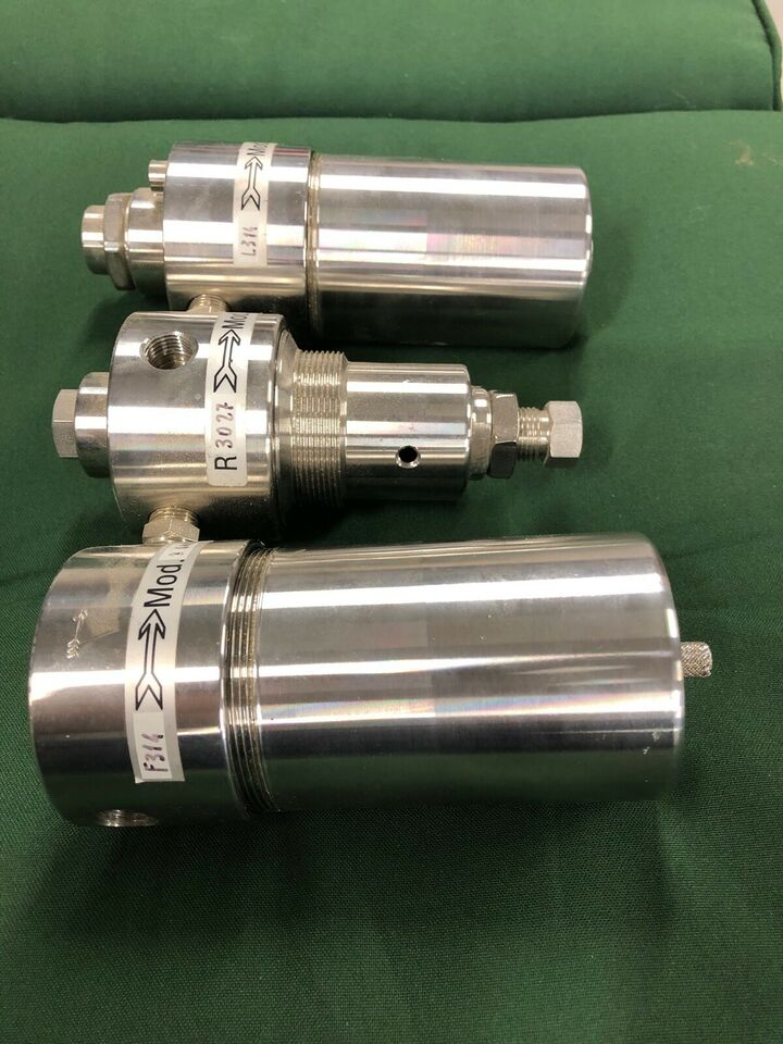 Rustfri filter og regulator