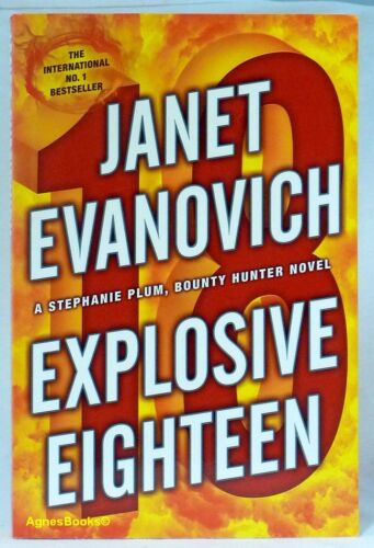 1 of 1 - #AF, JANET EVANOVICH Explosive Eighteen - Softcover