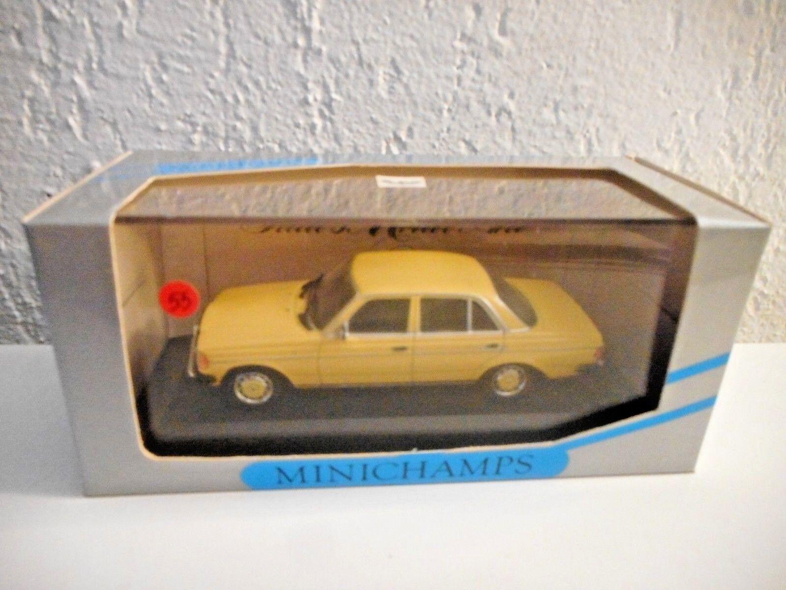 MINICHAMPS  1 43 vintage mercedes  w 123 limousine 200D N°55 de 100 mis en vente