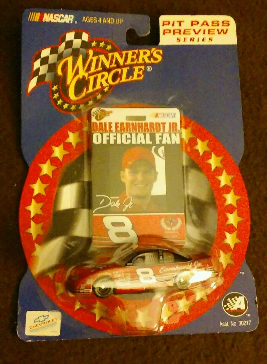 NASCAR DALE EARNHARDT JR. 2002 1 64 WINNER'S CIRCLE  PIT PASS PREVIEW SERIES