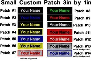 034-LOVE-IT-or-IT-039-S-FREE-034-CUSTOM-EMBROIDERED-NAME-TAG-3IN-X-1IN-NO-RISK-FREE