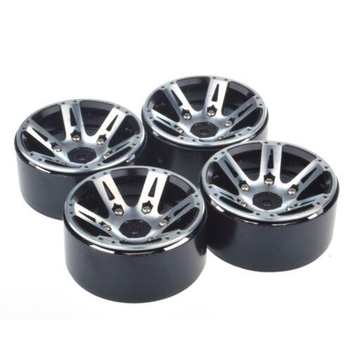 1.9 Alloy Wheel Rim Hub RC Car Accessories for 1//10 RC D90 SCX10 Rock Crawler