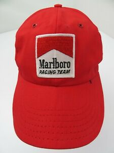 Marlboro-Racing-Team-Made-in-USA-Snapback-Adult-Cap-Hat