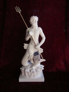 Alabaster-Poseidon-griechische-Mythologie-Gotter-Griechenland-28-cm-Handarbeit