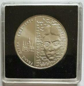 10 Euro argent Allemagne 2008 125 ans de Franz Kafka UNC  sous caps quadrum