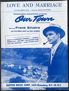 1955-034-OUR-TOWN-034-MOVIE-SHEET-MUSIC-034-LOVE-AND-MARRIAGE-034-FRANK-SINATRA