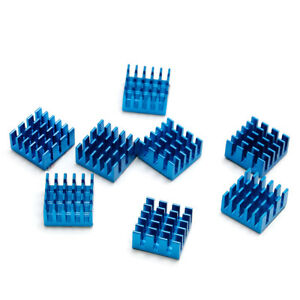 8pcs Aluminium Heatsink For Motherboard DDR VGA RAM Memory IC Chipset Cooler BL