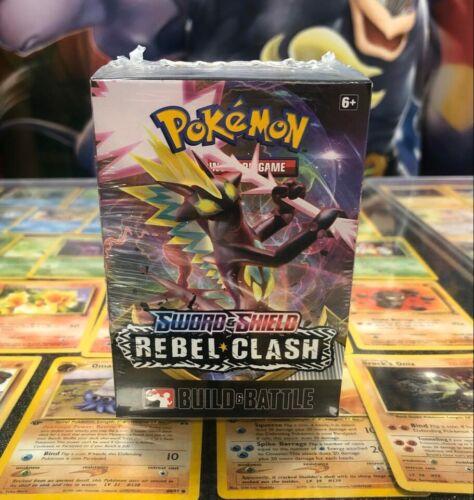NEW /& SEALED. Pokemon Cards Rebel Clash Build /& Battle Pre Release Kit