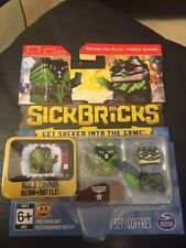 Sick Bricks Team 2 Character Pack Haz Matt Scuba Spy SickBrick Game New!!!