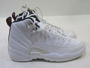 5568490dbf36 new youth Nike Air Jordan Retro 12 153265-163 Size 4.5Y 823233449107 ...