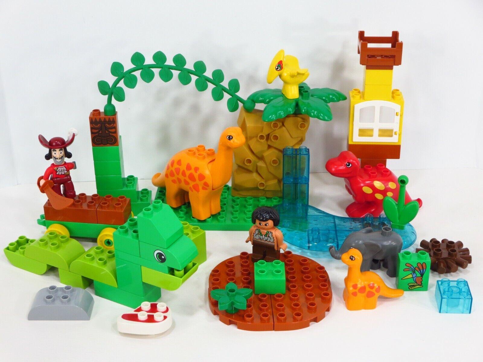 LEGO Duplo Vintage Dinosaur  Caveuomo Jungle Zoo Animal cifras Lot  best-seller