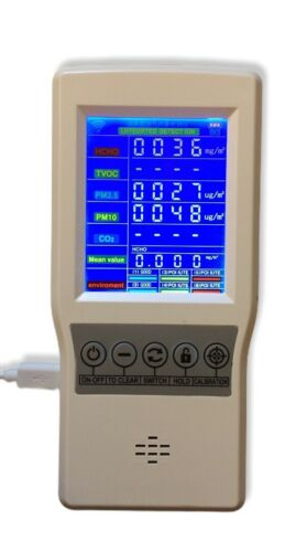 Tested W// Operating Instructions Air Quality monitor HTO-131 New