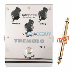 biyang tonefancier tr 8 analog tremolo electric guitar effect pedal true bypass ebay. Black Bedroom Furniture Sets. Home Design Ideas