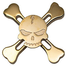 SKULL Hand Spinner Metal Rare Ultimate Fidget Toys Anti Stress Rotation Gift Hot