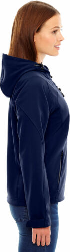 78166 North End Women/'s Basic Casual Right Chest Pocket Soft Fleece Jacket