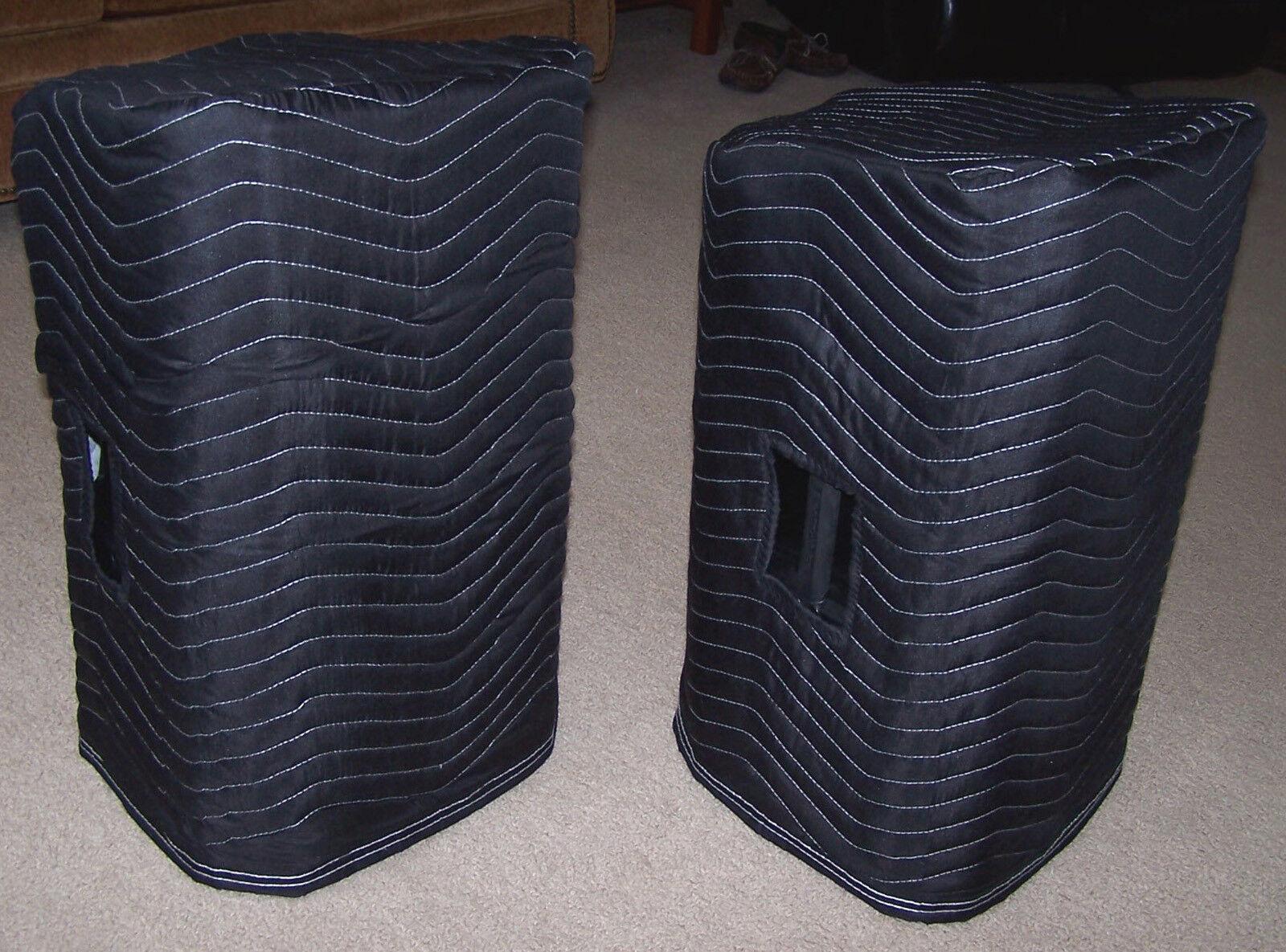EV ZLX-12P ZLX 12P Premium Padded schwarz Speaker Covers (2) Qty of 1 = 1 Pair