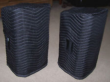 EV ZLX-12P ZLX 12P Premium Padded Black Speaker Covers  (2)  Qty of 1 = 1 Pair!